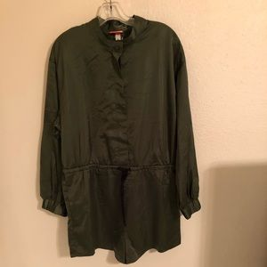 Olive Romper Size XL